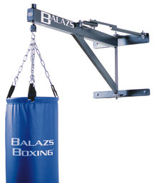 Balazs Boxing MH0331G Retractable Heavy Punching Bag Wall Mount