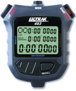 Ultrak 493 - 300 Lap Memory Stopwatch