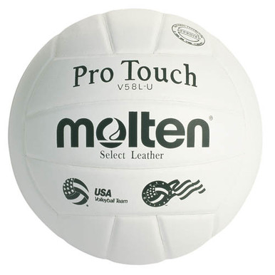 Molten International Leather Pro Touch Volleyball
