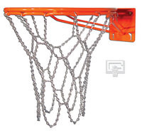 Gared Super Fixed Basketball Goal w/ Chain Net