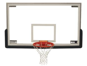 Spalding Superglass Collegiate Glass Basketball Backboard