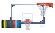 Gared Sports Master Backboard, Goal, Padding Basketball Package