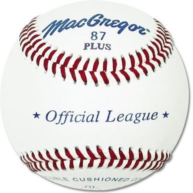 MacGregor #87OL Official League Baseballs - 1 Dozen