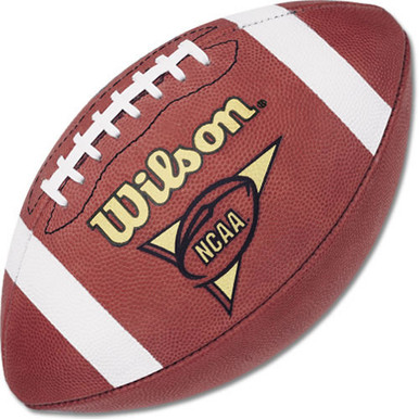 Wilson F1005R NCAA Leather Official Football