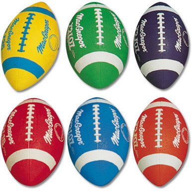 MacGregor Multicolor Youth Size Rubber Football