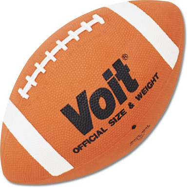 Voit CF5 Pee Wee League Sized Rubber Football