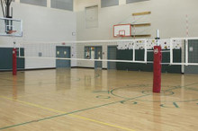 Gared SSI 6005 Scholastic 1 Court Volleyball Net System *