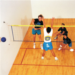 Wallyball Court Hardware For Wood or Concrete Courts **Available 4/27/20**