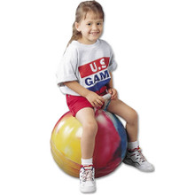 US Games 18-inch Hopper PE Balance Trainer Bouncing Ball