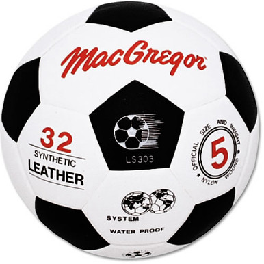 MacGregor Molded Synthetic Leather Soccer Ball - Size 4