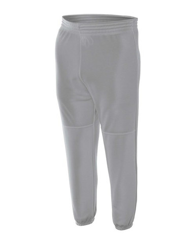 A4 Youth Pull-On 100% Poly 10-Ounce  Baseball Pant
