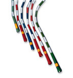 US Games  6' Segmented Skip Rope Black/White