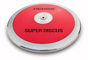 "Stackhouse T61 Red Super ""Low Spin"" 1.6 Kilo High School Discus"