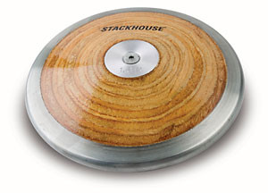 Stackhouse T-1.6 Competition 1.6 Kilo High School Wood Discus