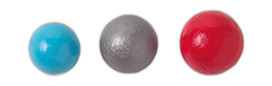 Stackhouse TJIBS Set of 3 Iron Javelin Balls - 400g, 600g, 800g