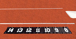 """Stackhouse TPVPSM Pole Vault Plant Step Marker - 6"""" Numbers"""