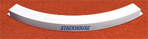 Stackhouse TATB IAAF Cert Cast Alum Toe Board - Level Pad