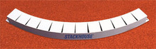 Stackhouse TATB-DP IAAF Cert. Cast Alum Toe Board- Depressed Pad