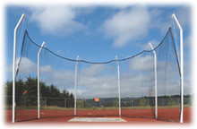 Stackhouse THSCAN14 Square Pole 14' Steel Discus Cage