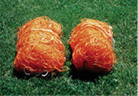 Stackhouse SPNO PolyethyleneOrangeSoccer Nets for SPNO Goal-Pair