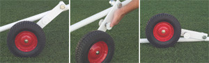 Stackhouse SOSGW Soccer Goal Wheel Attachment - Set of 4 Wheels