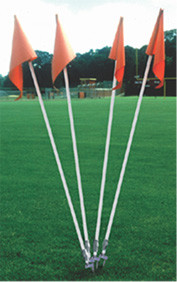 Stackhouse SDCF Step-Down Soccer Corner Flags - Set of 4