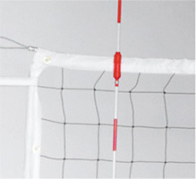 Stackhouse VCN Volleyball Net,Steel Cable,Steel Tube Dowels