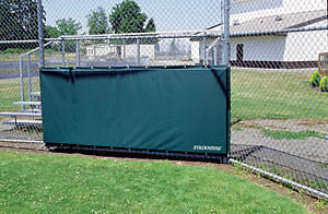 Stackhouse BBBSP Baseball Backstop Padding - Per sq. ft.