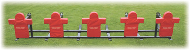 Stackhouse FTT3 Triple Threat Football Sled - 3 Man