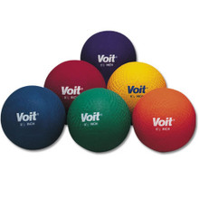 "Voit 8.5"" Multi-Colored Playground Balls - Prism Pack of 6"