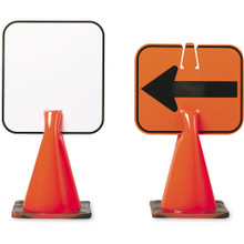 Plastic Cone Sign Game Marker - Blank