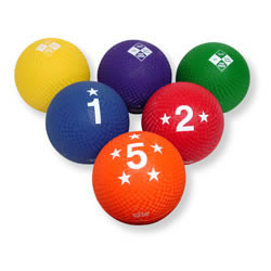 Voit 4-Square Utility Ball Prism Pack - Set of 6