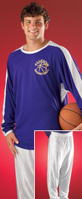 Alleson Athletic 545LS Adult LongSleeve Basketball Shooter Shirt