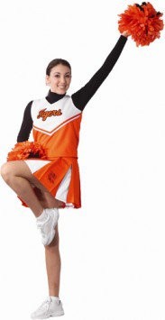 Alleson Athletic Youth Girl's Stock Cheerleading Uniform V-Shell