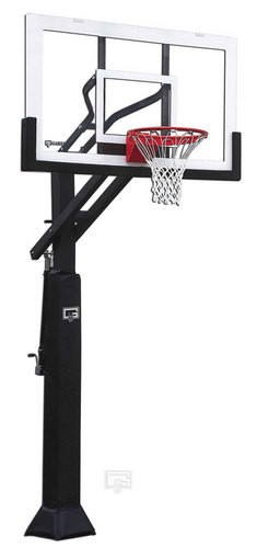 Gared Ultra Champ I Adjustable Residential Goal, 42 x 60 Acrylic
