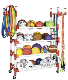 Champion Sports Equipment Cart Rack