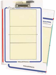 Champion Sports Coaches Board Volleyball