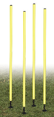Champion Sports Outdoor Agility Training Weave Poles