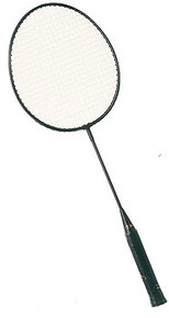 Champion Sports BR24 Intermediate Steel Badminton Racquet
