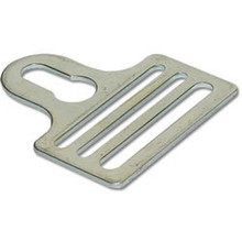 "1-1/2"" Metal Keyway Fastener Shoulder Pad Hardware"