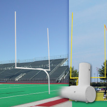 Official High School Gooseneck Football Goalpost Uprights