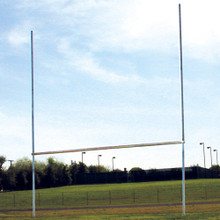 Classic Steel H-Pattern Football Goalpost