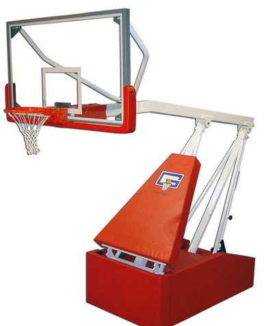 Gared Hoopmaster 8', Portable Basketball Standard System