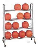 Gared Basketball Rack 16 Ball Capacity 4 Tier BR-16