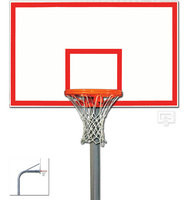 Gared Sports PK6015: Heavy-Duty Gooseneck Package w/Steel Basketball Board