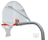 "Gared Sports PK4570: Standard 4 1/2"" RearMount Gooseneck Basketball Package"
