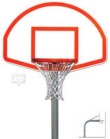 "Gared Sports PK4565: 4 1/2"" Gooseneck Package w/Aluminum Basketball Board"