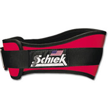 "Schiek Nylon 6"" Weight Lifting Belt with Velcro Closure"