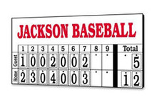 MAC  Manual Baseball/Softball Scoreboard