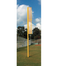 12' Above Ground 6' Wing Varsity Foul Pole - Pair